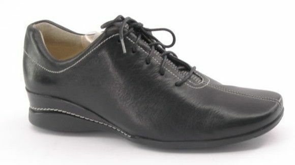 New ROCKPORT Women Black Leather Leather Leather Lace Up Comfort Formal Oxford shoes Sz 6.5 M d75f71
