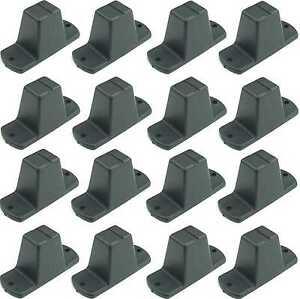 16 St. Adam Hall 4982 piedi di plastica 85 x 33 x 43 mm Mobili Piedi Dispositivi piedi piedi BOX  </span>