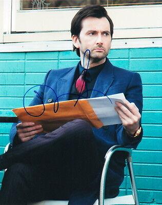 David Tennant. Signed Limpid In Sight Jessica Jones' Kilgrave
