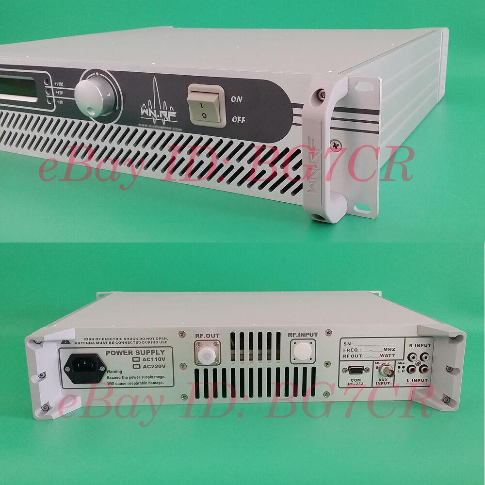 New 150W Professional Broadcast Radio Station FM Transmitter Exciter FMT 150A | eBay