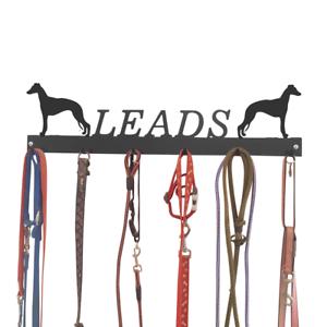 Whippet Dog Metal Tidy Lead Hooks