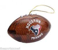 Houston Texans Light Up Football Ornament
