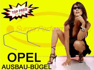 ENTRIEGELUNGS-BUGEL-Navi-OPEL-Corsa-C-Astra-H-Vectra-C-Meriva-Doppel-DIN-Radio