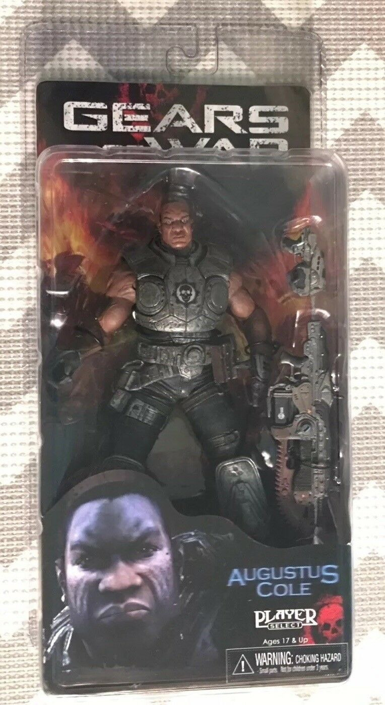 NECA GEARS OF WAR AGUSTUS COLE ACTION FIGURE NIB