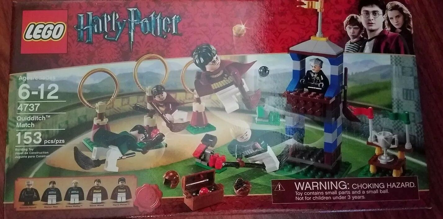 LEGO Harry krukmakare Quidditch Match (4737)