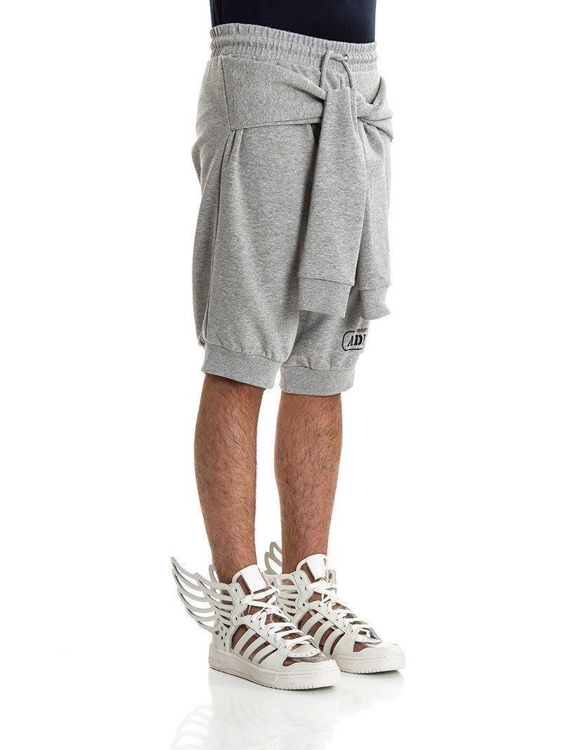 Adidas Originals Jeremy Scott JS Sleeve Shorts Grey, New, Authentic  f80983