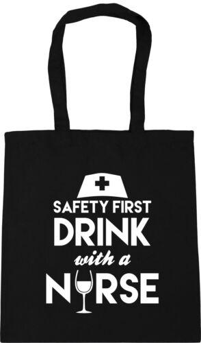 Best Nurse Tote Shopping Gym Beach Bag Carer Student Dental Ward Nursery