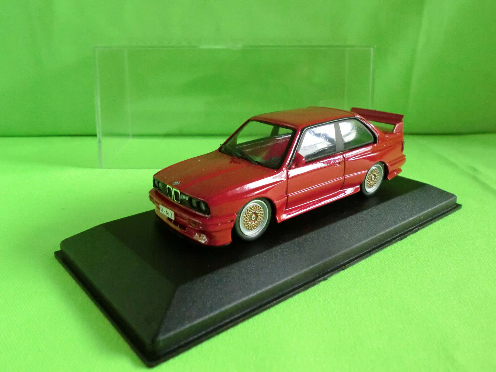 Minichamps 1 43 Bmw M3 E30 Bbs Le Mans Edition Extremely Rare