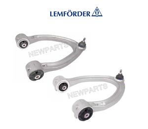 For Mercedes Set Of 2 Front Upper Control Arms Lemfoerder