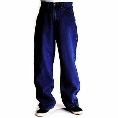 Bleubolt Men/'s Big Plus Size Large Baggy Loose Fit Comfort Skater Jeans Trousers