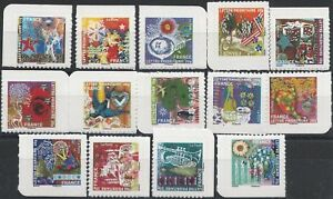 N-493-a-506-Timbres-Autoadhesifs-Meilleurs-Voeux-2010