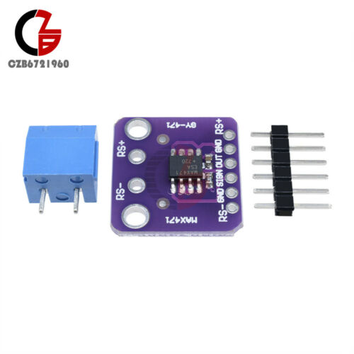 GY-MAX471 MAX471 Voltage Current Sensor Volt Amp Test Sensors Module for Arduino