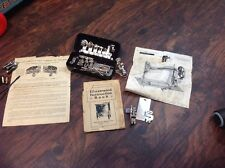 Lot Of Items For The Free Sewing Machine Co., Parts, Booklet, Shuttle, Carriers