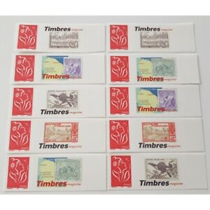 TIMBRE-PERSONNALISE-N-3802A-10-TIMBRES-MARIANNE-LAMOUCHE-TIMBRES-MAGASINE-GUYAN