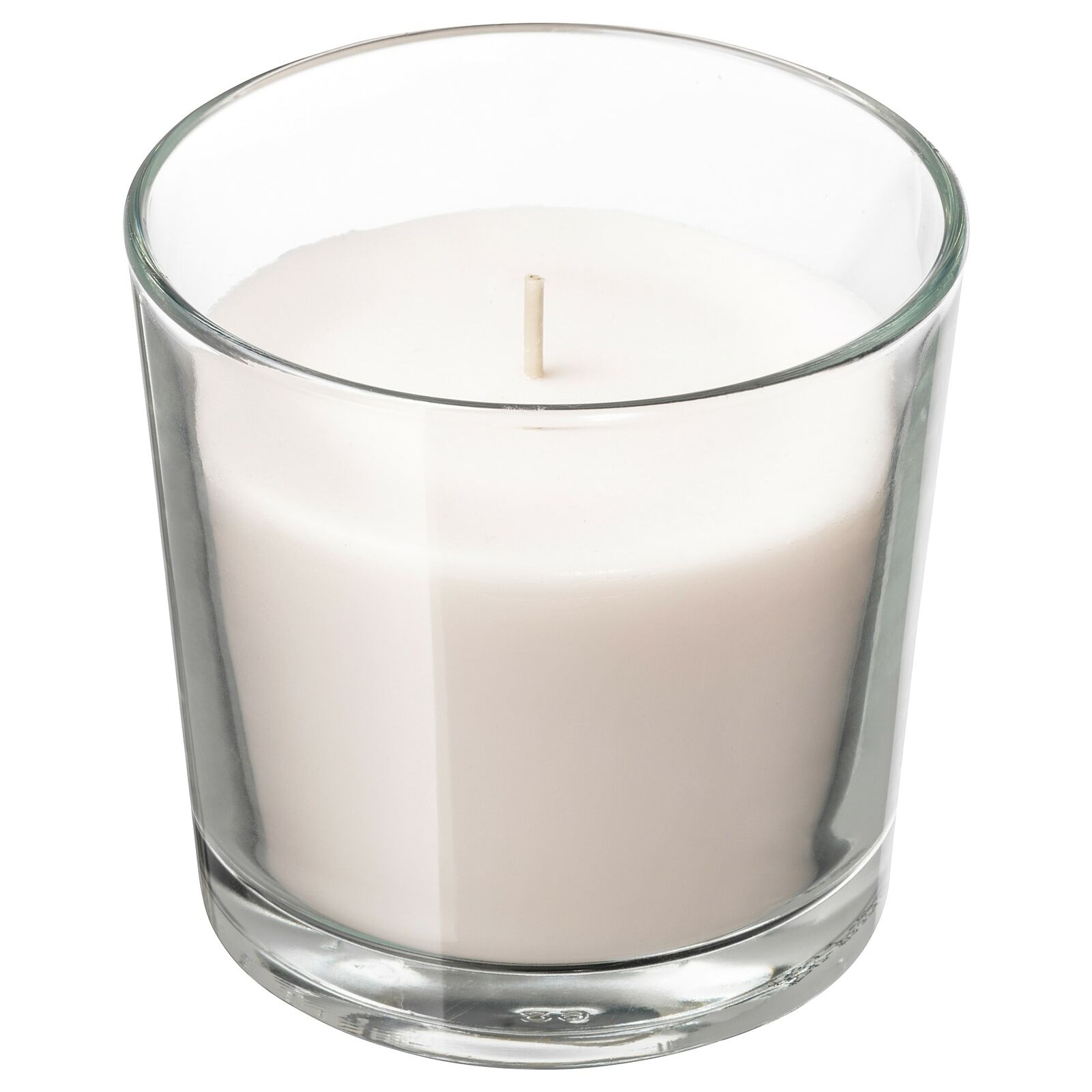 IKEA 603.374.19 Scented Candle in Glass Red
