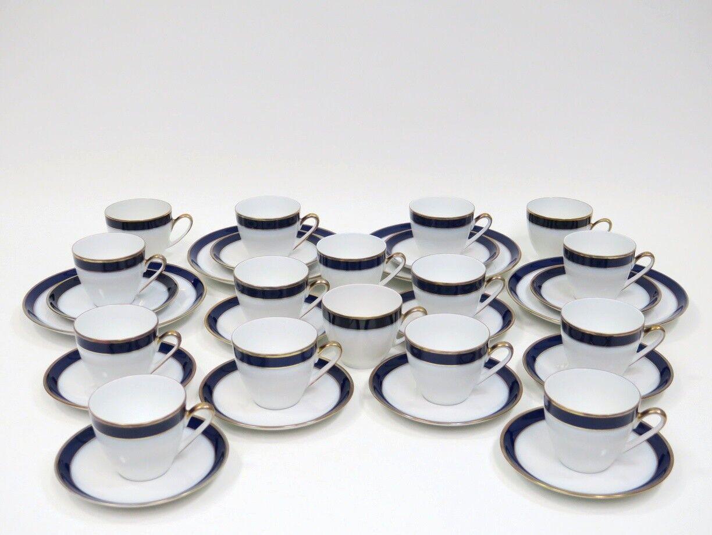 32 pezzi tazze caffè piatto tazza coperti di Hutschenreuther Drago modello
