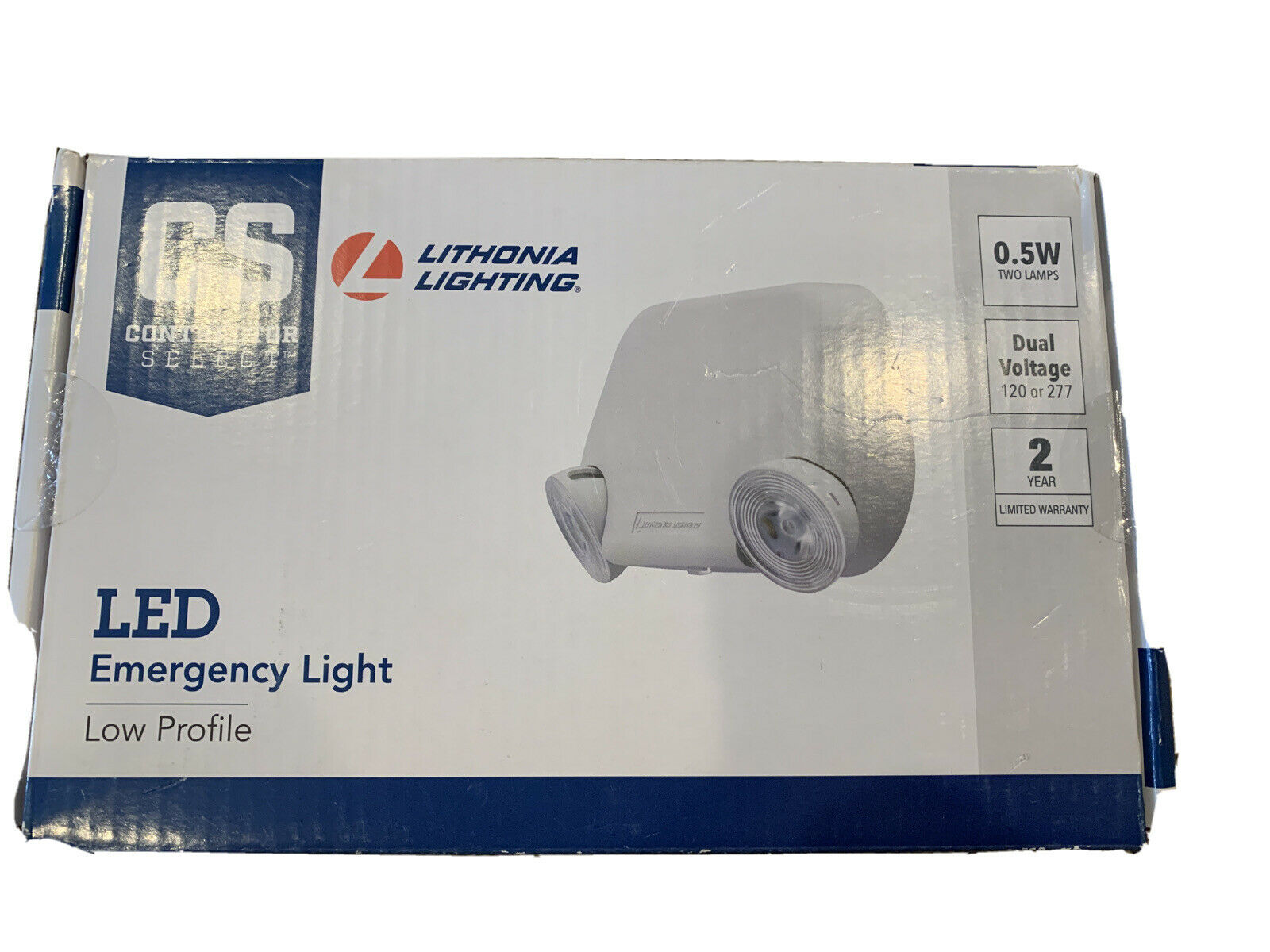 Lithonia Lighting Eu2l M12 Led Emergency Light Two Lamps Profile For Sale Online Ebay