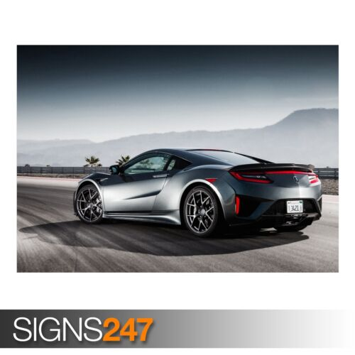 ACURA SPORTS CAR AC571 CAR POSTER Photo Picture Poster Print Art A0 to A4