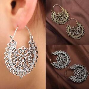 Vintage-Earrings-Women-Jewelry-Tassel-Earrings-Flower-Long-Drop-Earrings-Dangle