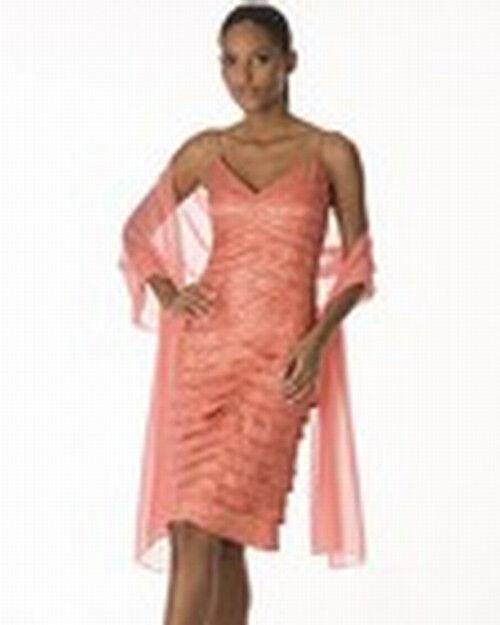 Chetta B Neuf avec étiquettes  465 Métallique V-cou robe de cocktail 10