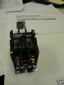 Siemens Furnas Contactor 42bf15af 30a 2p 120v New 783087145047