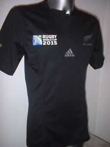 b5eec8b99e0 New Zealand Perfomance Fit S M L XL Adidas Rugby Union Shirt Jersey ...