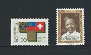 1969-70-LIECHENSTEIN-Telegraph-amp-Red-Cross-Anniversaries-MNH-Scott-461-465