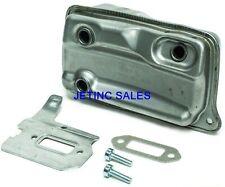 Muffler For Stihl Ts 410 Ts420 4238 140 0611 Gasket Cooling Plate Amp Bolts