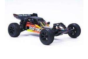 Bsd Racing Prime Buggy Brossé Baja V3 1/10 Orange / Noir