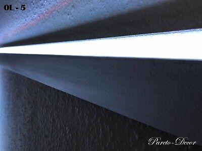 6 Meter Led Dekor Stuckleiste Für Indirekte Beleuchtung Xps Ol-5 Weiß
