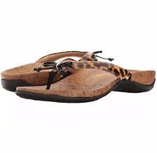 9e03dce82ff0d9 item 3 Vionic W Orthaheel REST CASSIE Thong Sandals W Bow Detail LEOPARD  PRINT 7W NIB -Vionic W Orthaheel REST CASSIE Thong Sandals W Bow Detail  LEOPARD ...