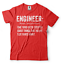 miniature 4 - Engineer T-shirt Funny Engineering T-shirt.Gift For Engineer Shirt Funny Tshirt
