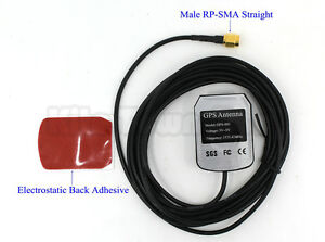 US Enhanced 3M GPS antenna navigation positioning Aerial Male RP-SMA
