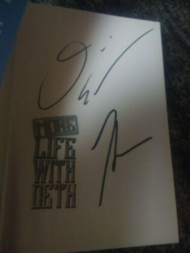 Autographed More Life With Deth David Ellefson megadeth metallica Signed