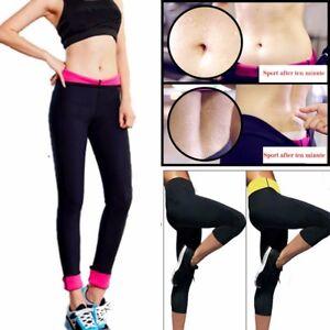 30afa5c380 Sweat Sauna Suit Body Shaper Slimming Long Pants Thermo Neoprene Gym ...