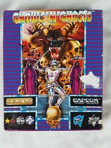 2019 Nouveau Style Ghouls And Ghosts Capcom Us Gold Commodore Amiga 1987-afficher Le Titre D'origine Apparence éLéGante