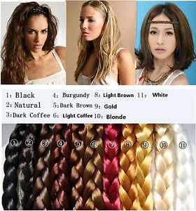 Women-Synthetic-Hair-Plaited-Elastic-Headband-Braided-Hair-Band-DIY-Accessories