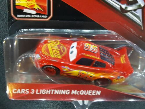 DISNEY PIXAR CARS 3 WITH CARD LIGHTNING MCQUEEN 2017 SAVE 6/% GMC