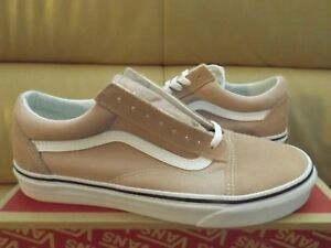 0d3ef35e201 Vans Old Skool Men s Skate Shoes Size 9 Mahogany Rose True White ...