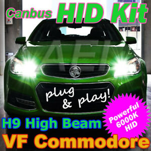 Plug-and-Play-H9-6000K-High-Beam-HID-Kit-to-suit-Holden-VF-Commodore-amp-HSV-Gen-F