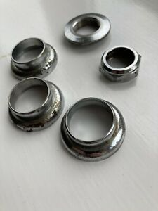 Old-School-BMX-Raleigh-Burner-Headset-cups-nuts-no-Bearings-1-034-Inch