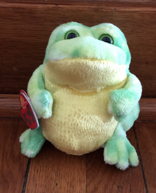 Ty Beanie Babies 2.0 Jumps  frog