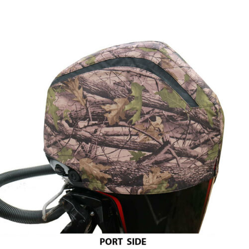 Camouflage Vented Outboard Motor Cover for Mercury Mariner