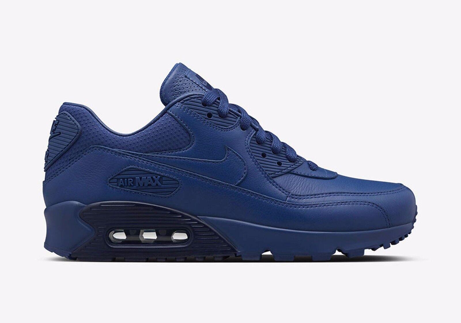 Nike Air Max 90 Pinnacle Insignia bluee Binary bluee 839612-400 Wmn Sz 6.5 Leather