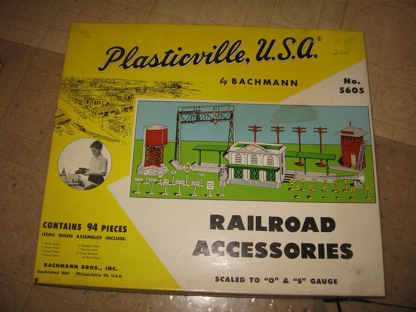 PLASTICVILLE U.S.A RAILROAD ACCESSORIES MASTER SET