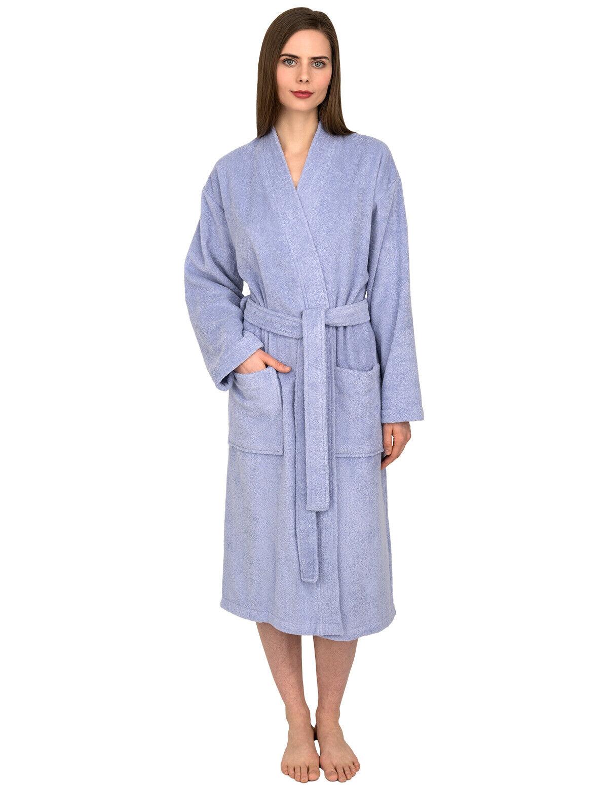 TowelSelections Women's Robe, Low Twist Cotton Terry Bathrobe
