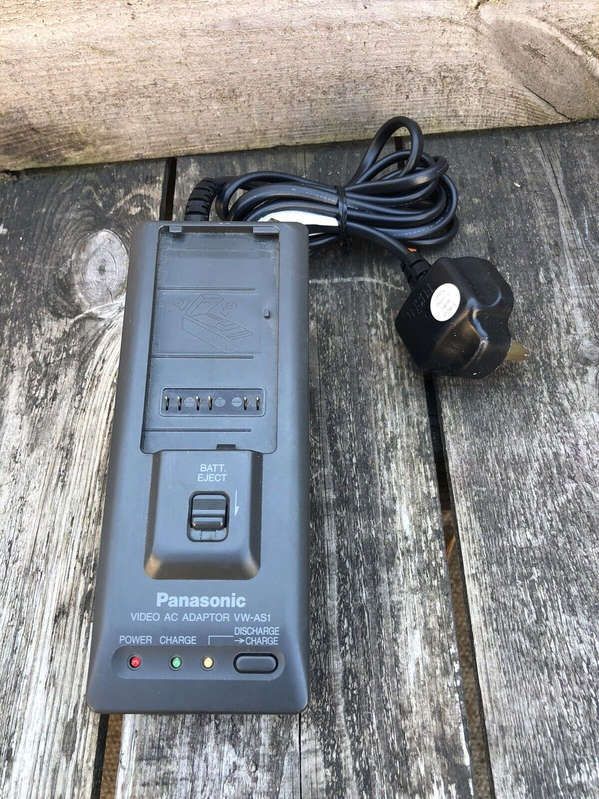 Panasonic VW-AS1B Video Camcorder Charger Adaptor - Tested & Working
