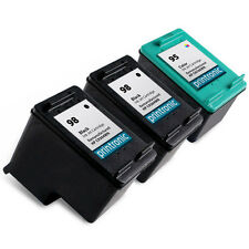 3pk Printronic For HP 95 and HP 98 Ink Cartridge C8766WN C9364WN