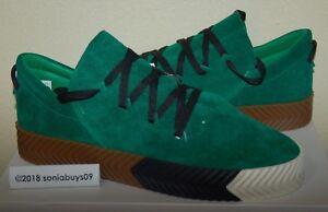 adidas x uomini pattinare alexander wang - scarpe, by8907, verde, taglia 12