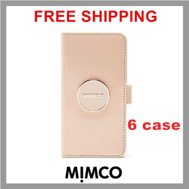 uk availability 13ed8 8a1d3 MIMCO Enamour iPhone 6 6s Pancake patent leather Flip case wallet cover